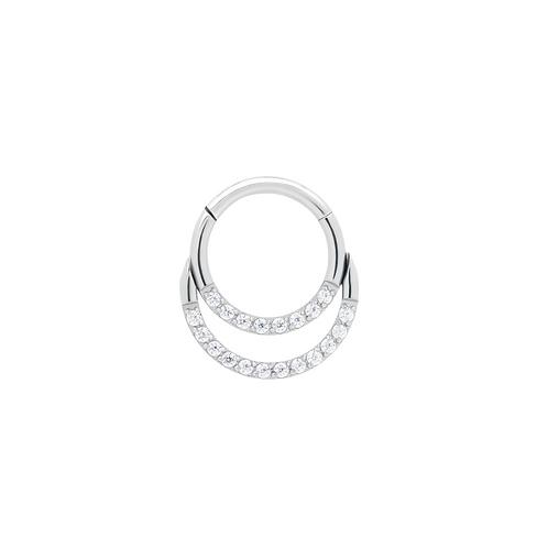 The 'Duo' Ring Titanium