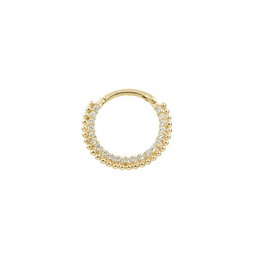 Tish Lyon 'Flavia' Ring 14kt Yellow Gold