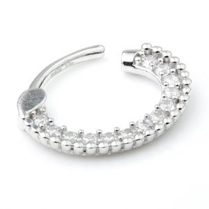 PAVE RING 1.2x10mm