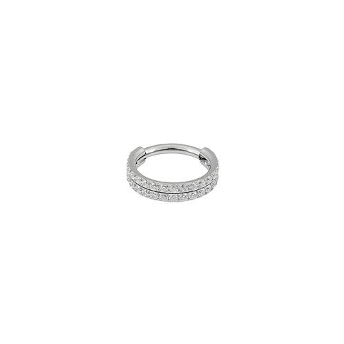 The 'Meridian' Ring Titanium