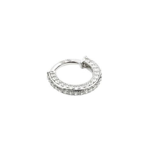 Tish Lyon 'Ola' Ring 14kt White Gold