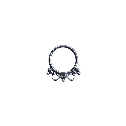 The 'Leora' Ring Titanium