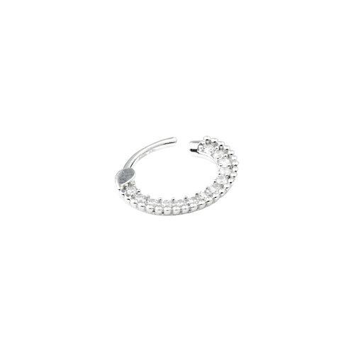 Tish Lyon 'Ele' Ring 14kt White Gold