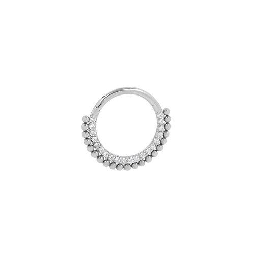 The 'Alma' Ring Titanium