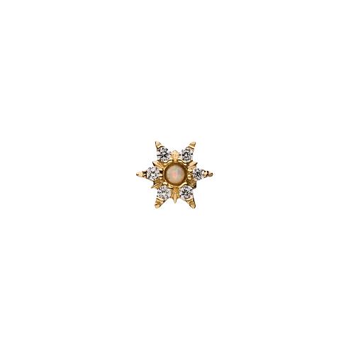 Invictus Opal Sunstar 14kt Yellow Gold
