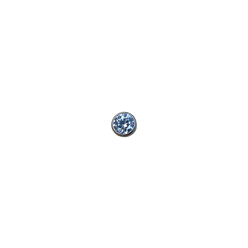 Crystal Ball End Titanium