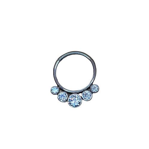 The 'Luminance' Ring Titanium