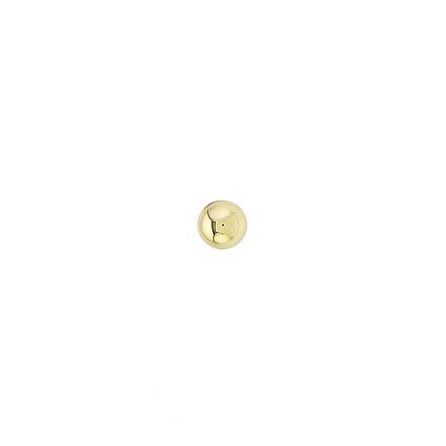 Body Gems Ball 2.5mm 14kt Yellow Gold