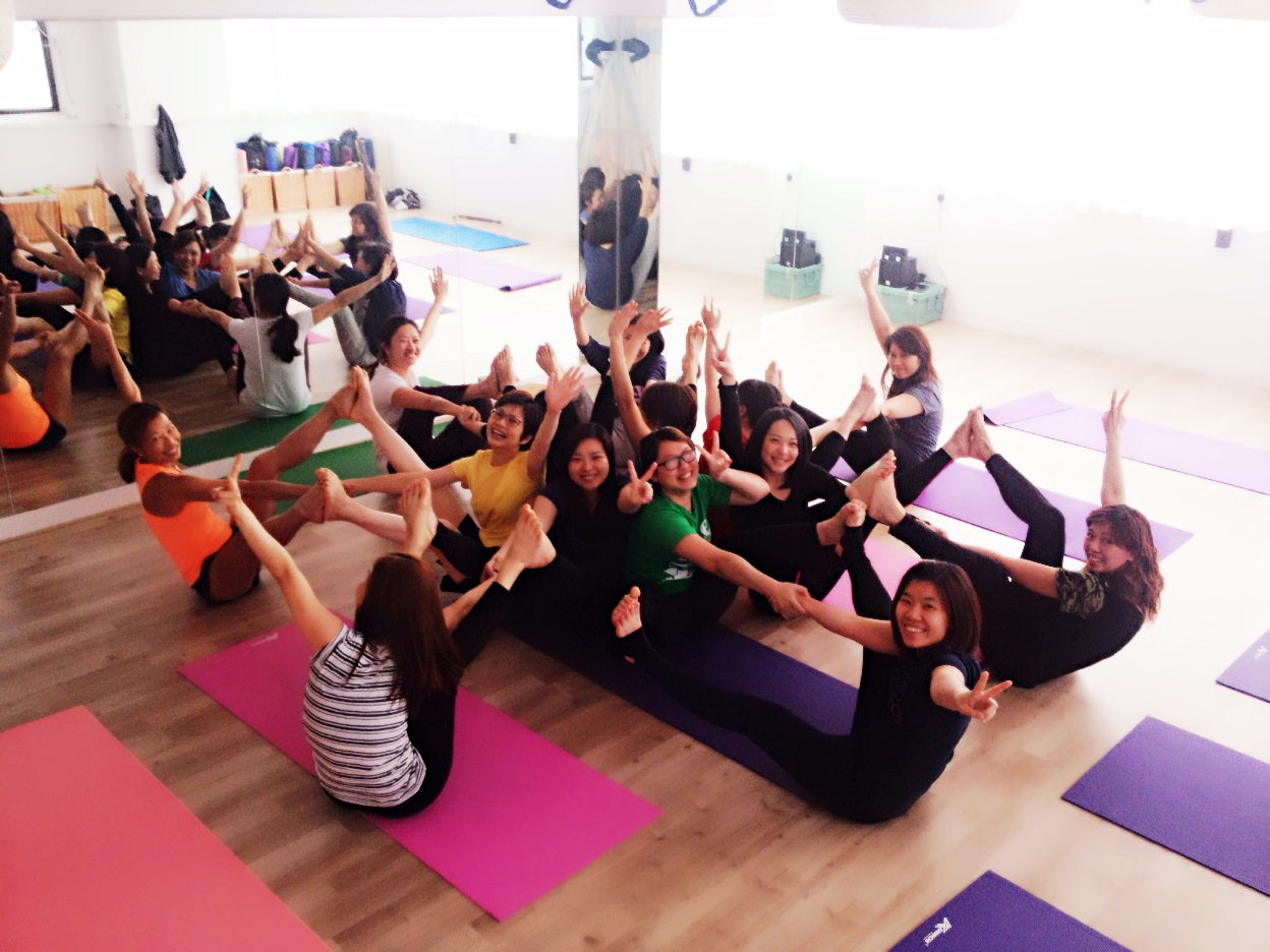 Have fun!! Lets yoga with us