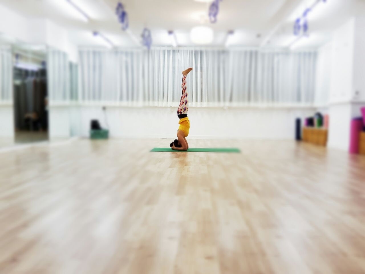 King of the Asana - Headstand