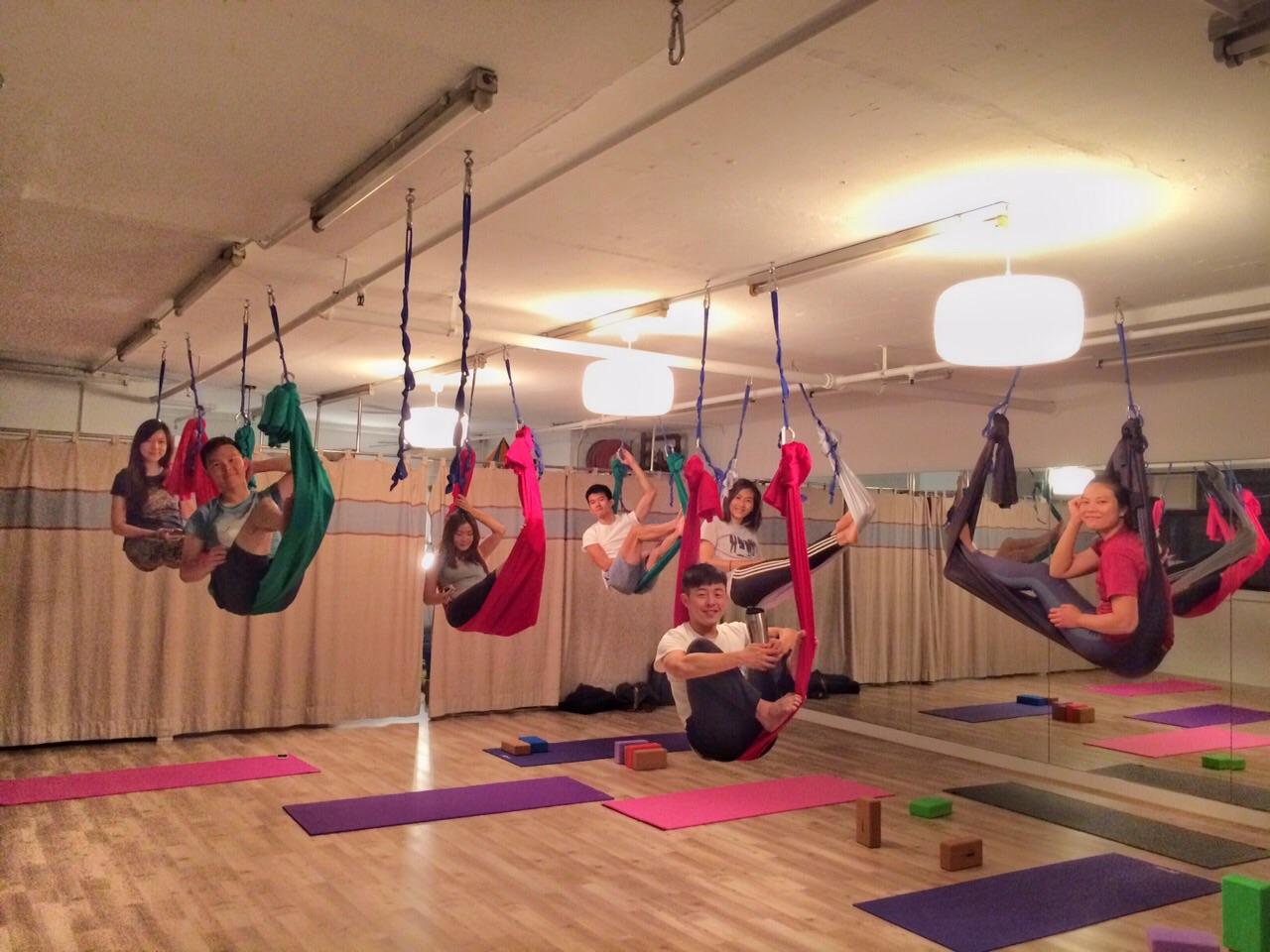 Flying Yoga Private Class