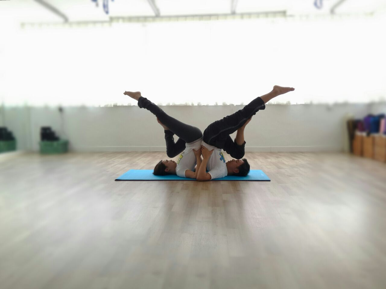Partner Yoga ~ Sweet Couple