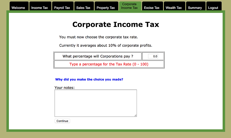 calculating corporate income tax