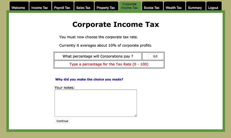 calculating corporate income tax
