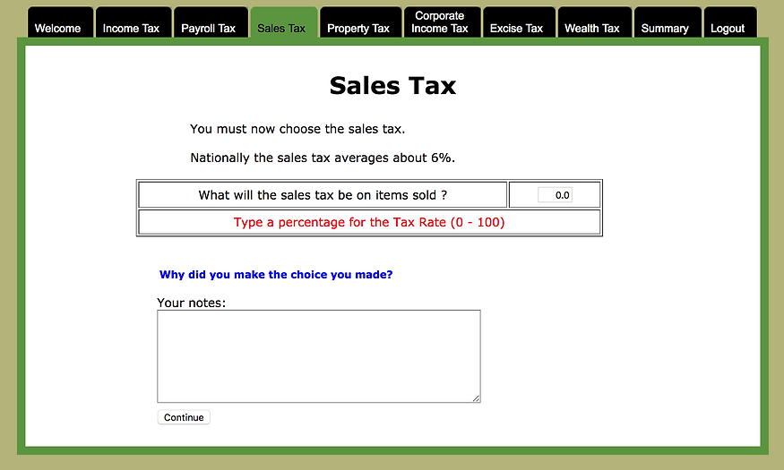 caluclating sales tax