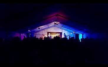 3 Daft Monkeys performing at The Rustic Folk Festival 2018