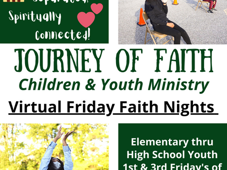 FRIDAY FAITH NIGHT (FFN) - A Ministry for Children & Youth