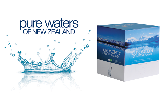 Pure Waters Of New Zealand is available in 5L, 10L and 20L boxes.