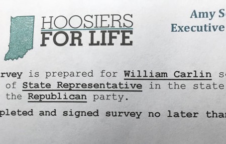 Hoosiers for Life Surveys Smaltz Challenger