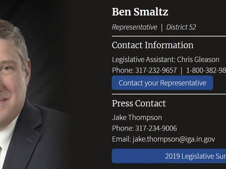 House Speaker Caves to Voter Demands: Rep. Ben Smaltz up Next