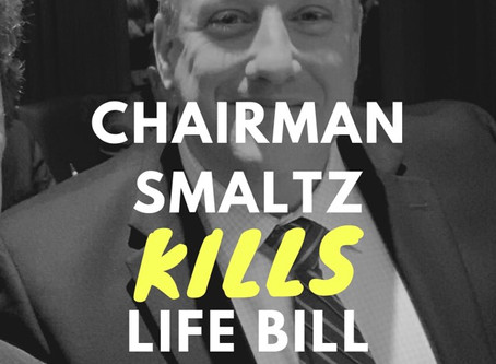 Rep. Smaltz Betrays Unborn Babies, Keeps Abortion Legal