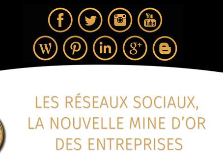 Les réseaux sociaux, la nouvelle mine d'or des entreprises