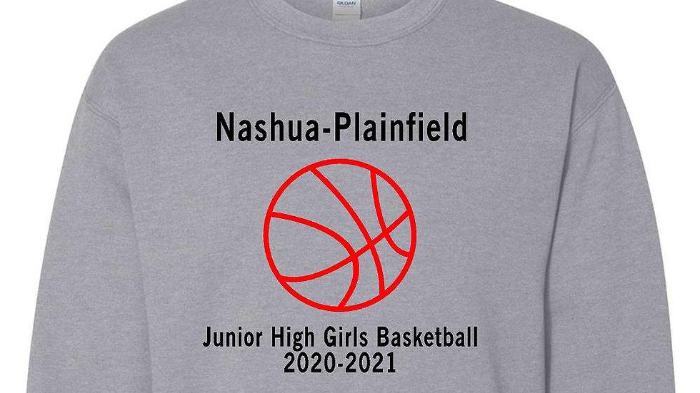 NPJH Girls Basketball Gildan Crewneck Sweatshirt