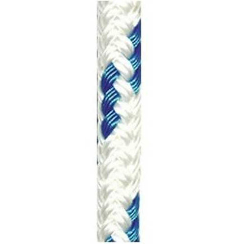 Doublebraid 6mm White + Blue Fleck [Robline Orion-300] ABS = 800-kg