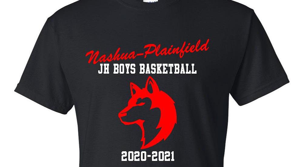 NPJH Boys Basketball Gildan Tee