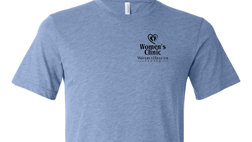 Women's Clinic Denim Triblend Unisex Tee