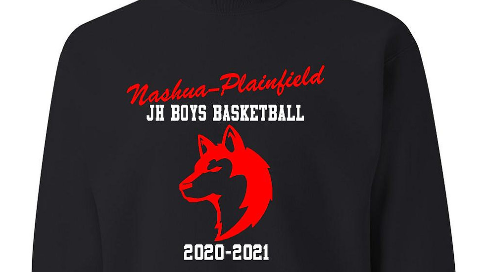NPJHBoys Basketball Gildan Crewneck Sweatshirt
