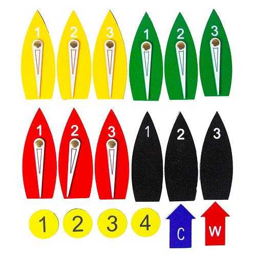 EX2650 – Magnetic protest boat kit – full set