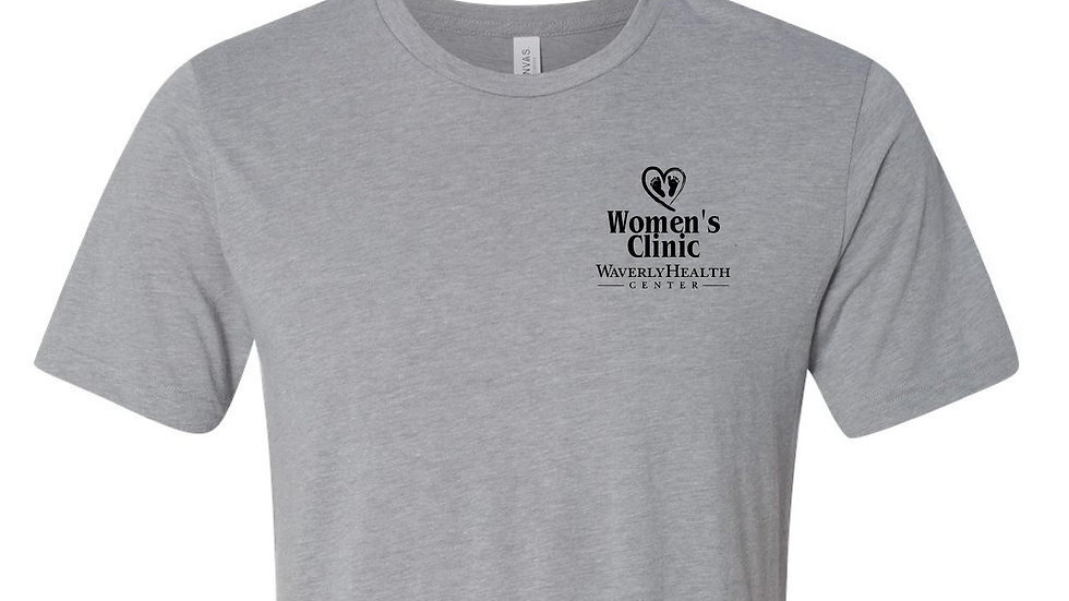 Women's Clinic Athletic Grey Triblend Unisex Tee