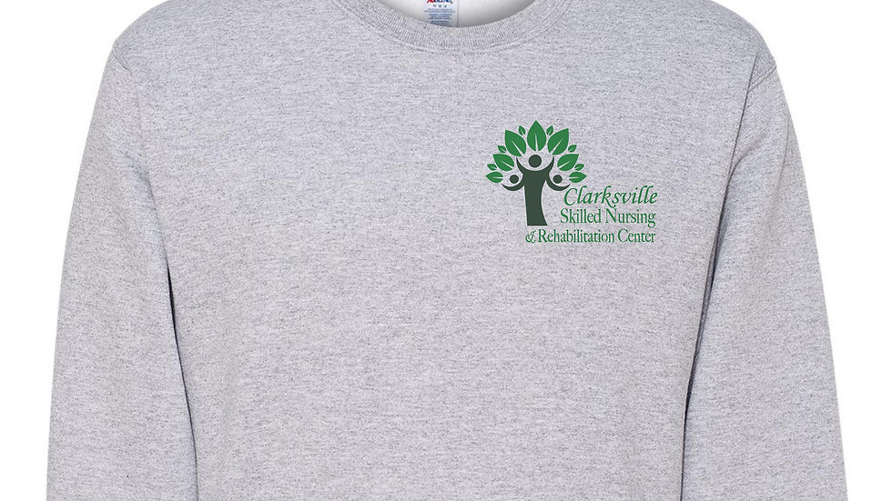 Clarksville Skilled Athletic Grey Crewneck