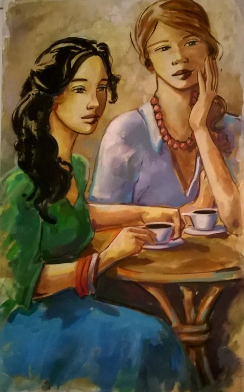 Hora do cafe, 80 x 50
