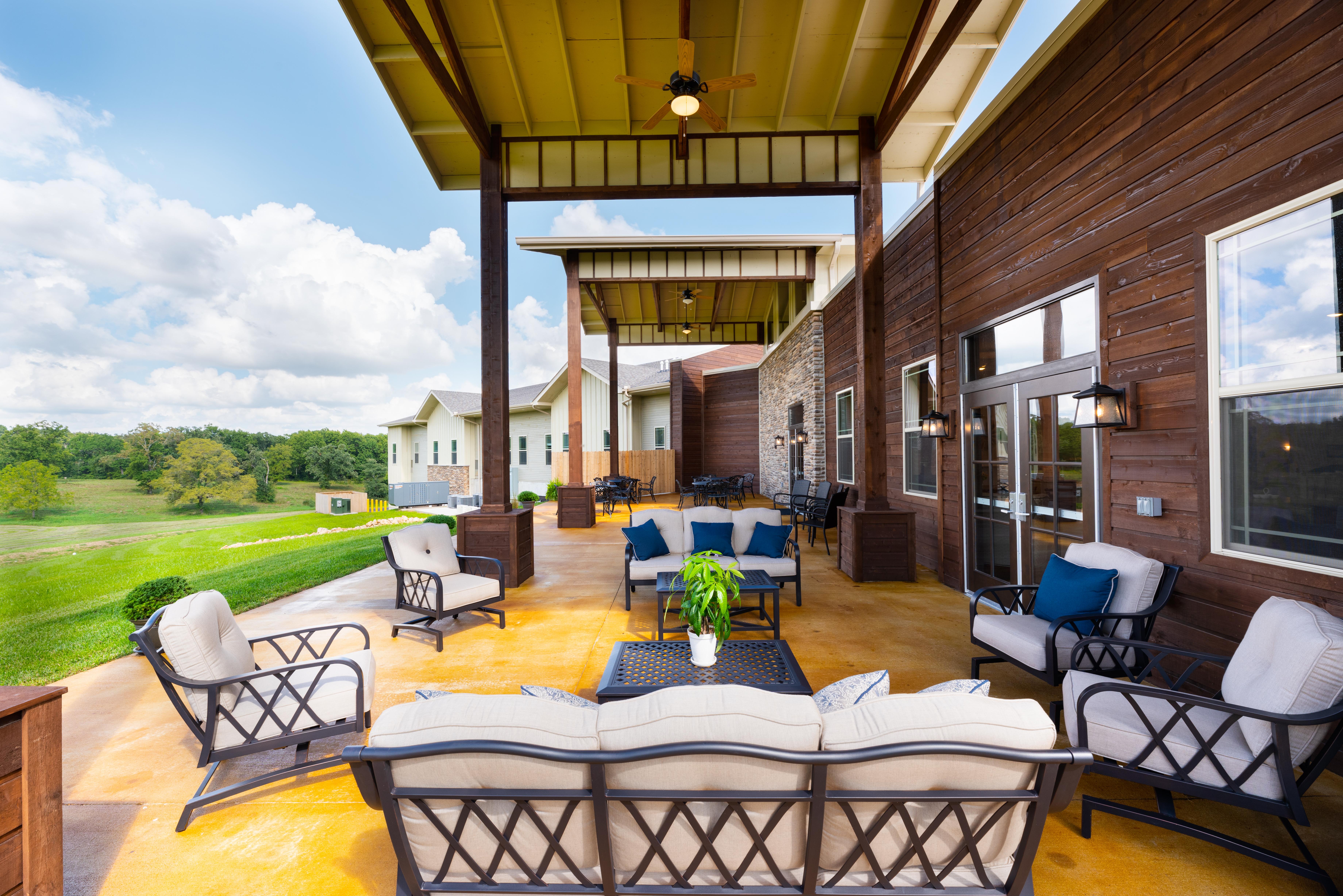 Outdoor Rest Area