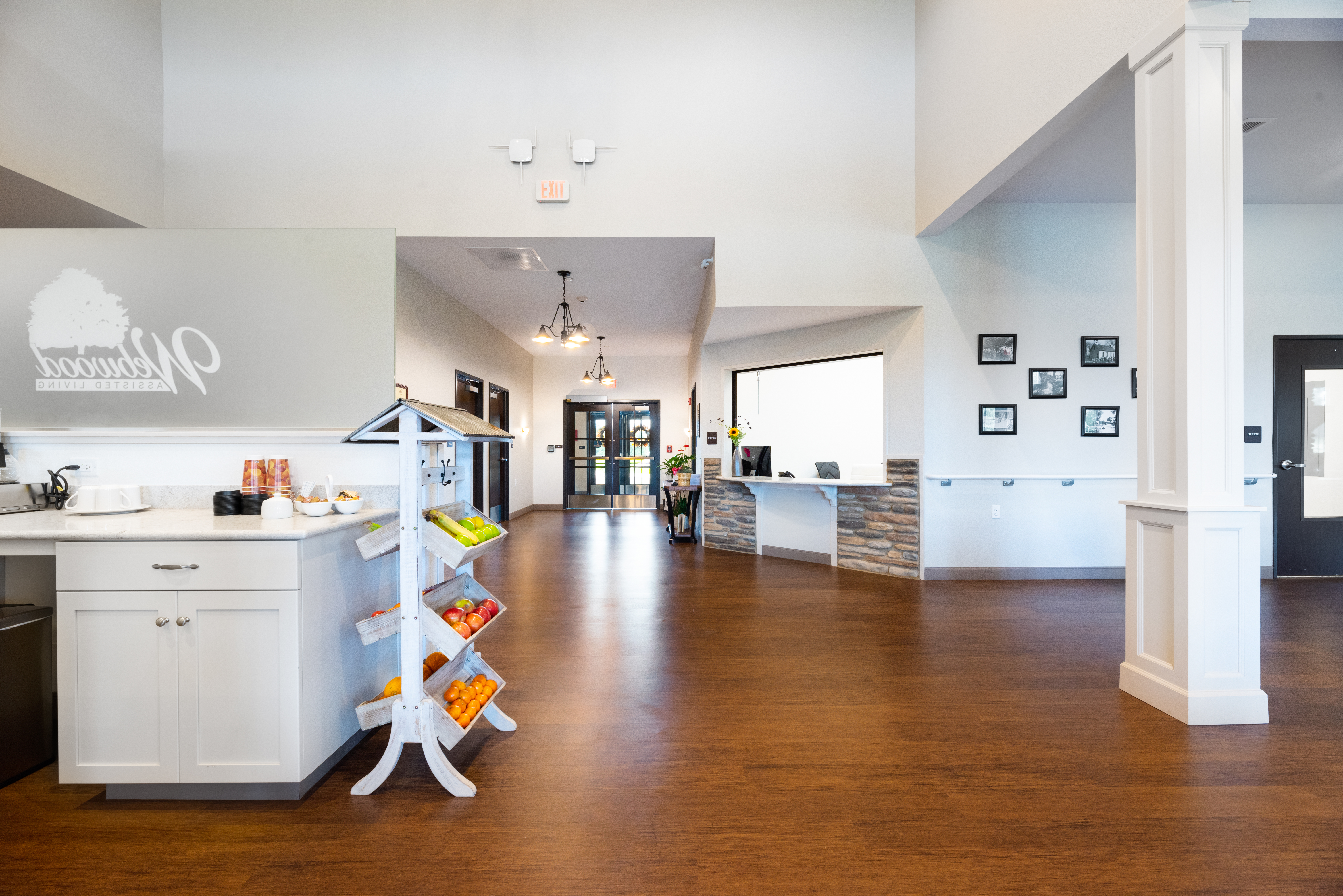 Front Entry & Reception
