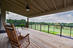 North Wing Covered Deck