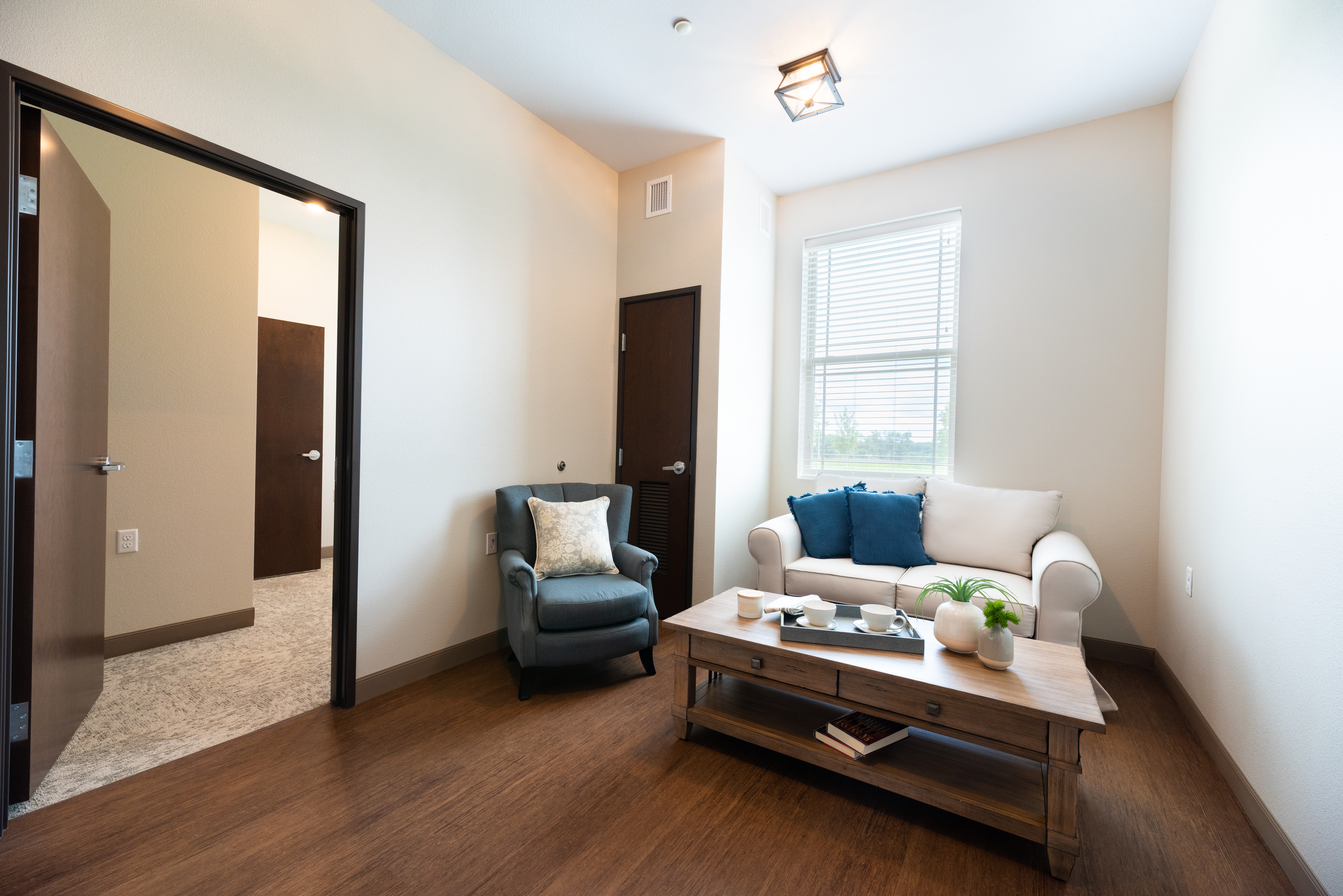 Two Bedroom Living