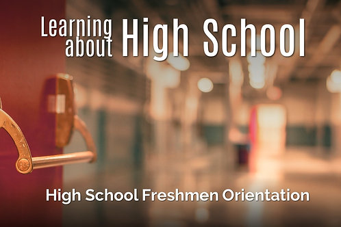 Freshman Orientation Lessons, Curriculum Guide, and Toolbox