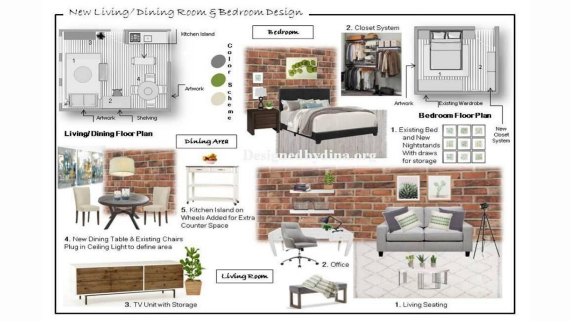 Virtual Interior Design Package