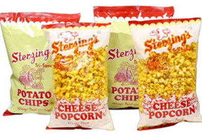 Combo Pack (2-16 oz. Chips & 2-7 oz. Cheese Popcorn)