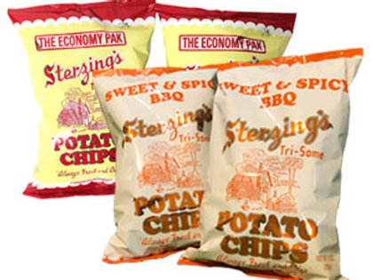 Combo Chip Pack (2-16 oz. Chips & 2-9 oz. Sweet & Spicy BBQ Chips)
