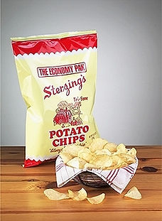 Bag of Sterzings on Table