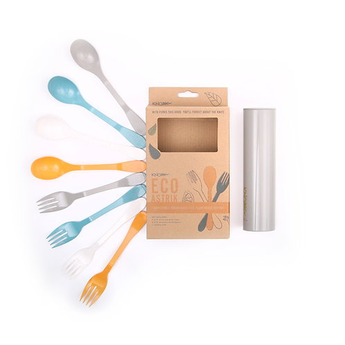 Eco  8 Piece Flatware Set and Carry Case