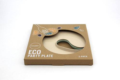 Eco Party Plate, 2 Pack