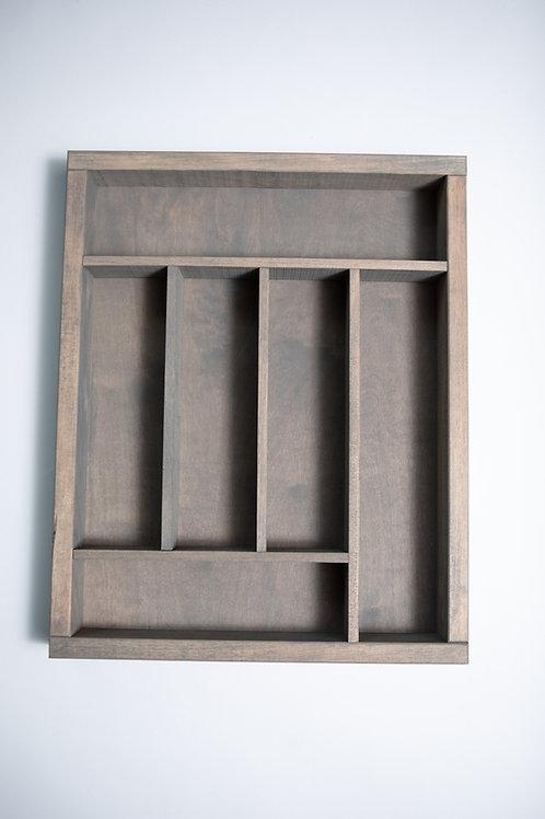Wood Storage Tray Large