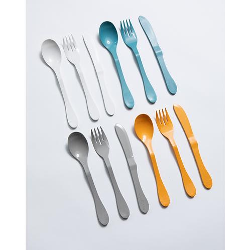 Eco 12 Piece (Fork, Knife, Spoon)