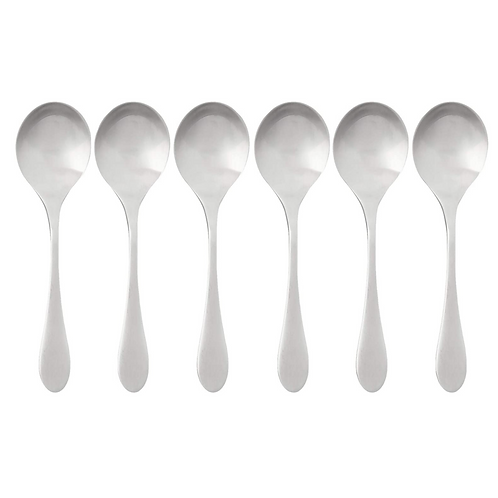 Bouillon Spoon, Set of 6