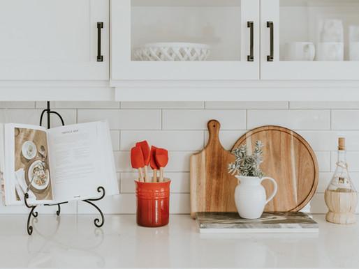 Como ter a cozinha organizada - passo a passo